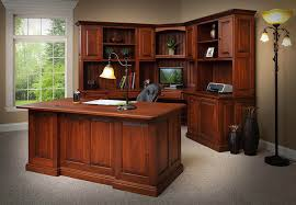 home office amish built home office