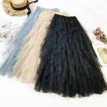 <b>Wasteheart</b> Autumn <b>Women</b> Fashion Black <b>Blue</b> Skirt <b>Women</b> High ...