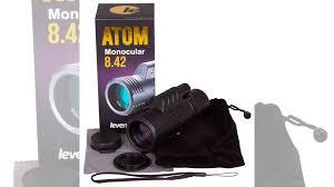 <b>Монокуляр Levenhuk Atom 8x42</b> купить в Санкт-Петербурге ...