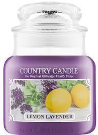 Country Candle <b>Lemon Lavender</b> - <b>Ароматическая свеча</b> в банке ...