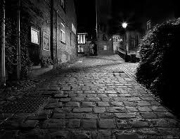 Resultado de imagen para calles romanticas de noche dibujos