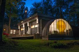 Quonset Hut Homes that Will Steal Your Amazement   HomesFeedquonset hut homes and in combination   modern home ideas together   wide backyard