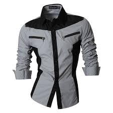 Online Shop <b>2019</b> Spring <b>Autumn</b> Features Shirts <b>Men Casual</b> Shirt ...