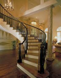 stairs in a house with beautiful custom interior stairways