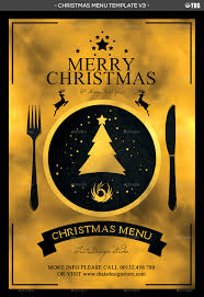 christmas menu template v by lou graphicriver menu template v3 jpg