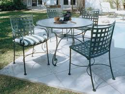 black and white patio furniture. furniture wrought iron outdoor dining table with chair using black and white striped seat patio