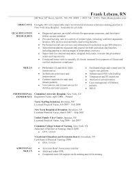 standard nurses resume sample inspiration shopgrat samp resume sample sample sample of resume for nurses nursing service