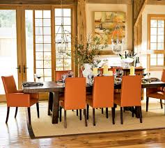 Orange Dining Room Chairs Orange Dining Room Sets At Alemce Home Interior Design