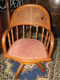 antique bent wood oak office desk chair j s f j co furniture swivel industrial ebay antique oak office chair