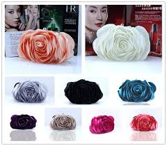 <b>Ladies Floral Evening Bag</b> Fashion Vintage Woman Rose Flower ...
