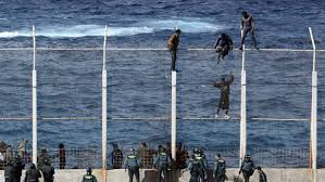 The Fences Where <b>Spain And Africa</b> Meet : Parallels : NPR