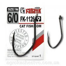 <b>Крючки fanatik</b> FK-1126 <b>CAT</b> fish/сом №6/0 (1 шт) - купить по цене ...