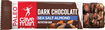 Dark <b>Chocolate</b> Sea Salt - <b>Nutrition Bars</b> | Caveman Foods