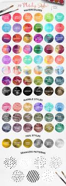 17 best images about photo hobby photography the watercolor media kit for photoshop on behance
