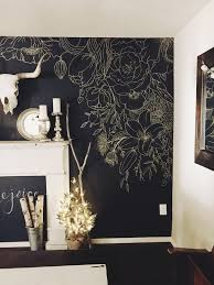 DIY Watercolor Mural Wall - Bedroom wall murals ideas