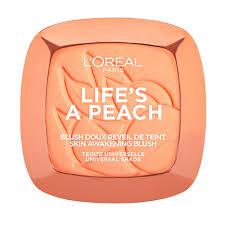 <b>Румяна</b> для лица <b>L'Oreal Paris</b> Life's A Peach Blush тон 01 Peach ...