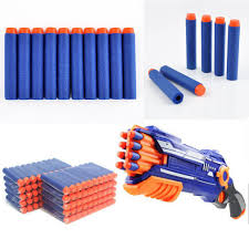 400pcs/set Soft <b>Bullets</b> For Nerf Darts Gun Toys Round Head Refill ...