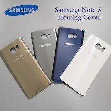 <b>Samsung</b> Galaxy Note 5 <b>Original Back Battery Cover</b> 3D Glass ...