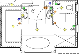 bathroom electrical wiringelectrical wiring diagram bathroom