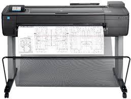 Струйный плоттер <b>HP</b> DesignJet T730 F9A29A купить в Москве и ...