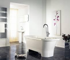 white bathroom floor:  black and white bathroom floor ideas photos