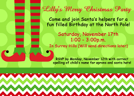 christmas party invitation printable invitation elf feet 128270zoom