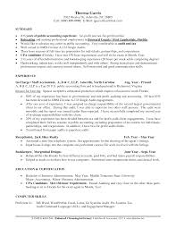 Best Accounting Resume Resume For Your Job Application