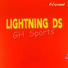 <b>61second Lightning</b> DS NON-TACKY Pips-in Table Tennis ...