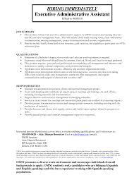 sample resume administrative assistant skills  seangarrette cosample resume administrative assistant skills resume sample administrative support project management