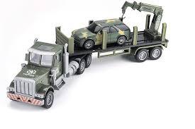 552-B2 <b>Zhoule Toys Радиоуправляемый грузовик-трейлер</b> + джип ...