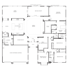 Single Story House Plans   Design InteriorSingle Story House Plans