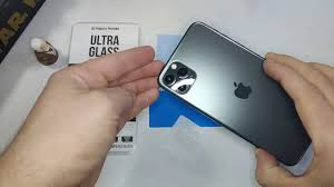 Как установить <b>защитное стекло</b> на камеру iPhone 11 Pro Max ...