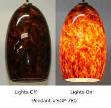 picture of root beer blown glass pendant lights blown glass pendant lighting