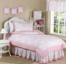 pink toile girls bedding twin or fullqueen kids comforter sets bedding sets twin kids