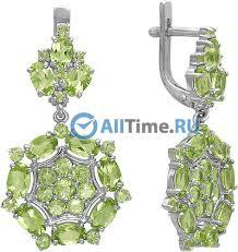 Купить Серебряные длинные серьги <b>Ювелирные Традиции</b> S620 ...