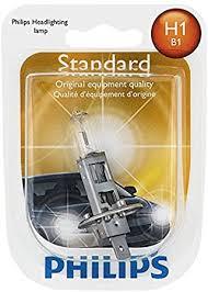 Philips 12258B1 H1 Standard Halogen Replacement ... - Amazon.com
