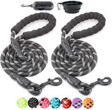 BAAPET 5 FT <b>Strong Dog</b> Leash with Comfortable Padded Handle ...