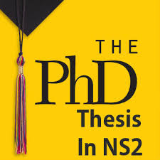 PhD Thesis in NS  NS  Projects