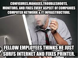 How can I tell if my system administrator is actually working or ... via Relatably.com
