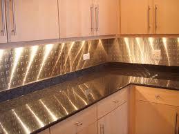 modern metal backsplash with under wall cabinet lighting full size cabinet lighting backsplash home