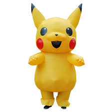 Ainiel <b>Pikachu Inflatable Costumes</b> Large Mascot Pokemon Cosplay ...