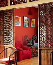 chinese style decor: chinese home decor red green and yellow
