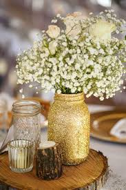 a glitter filled gorgeous vintage rustic wedding beautiful classic mason jar