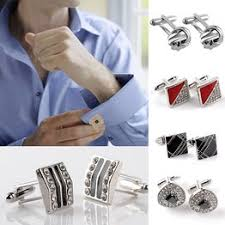 1 Pair Men's Fashion Jewelry Cuff Button Alloy Shirt Cufflinks ... - Vova