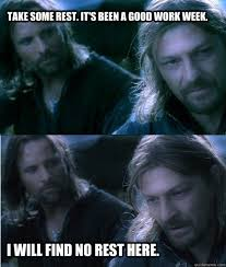 Agitated Boromir memes | quickmeme via Relatably.com