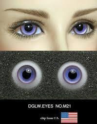<b>16mm</b> 2 tone <b>colors high quality</b> glass bjd doll eyes dollfie luts ...