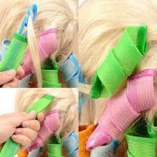 <b>MAGIC</b> NON-HEAT <b>HAIR</b> CURLERS (18pcs/<b>lot 2</b> Colors) | Products ...
