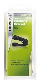 amazon com hopkins 48595 4 wire flat mounting bracket automotive