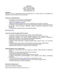 phlebotomist resumes samples cipanewsletter cover letter phlebotomy resume sample phlebotomy tech resume