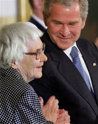 harper lee gawker president bush right smiles after presenting author harper lee left the presidential medal of dom during a ceremony for the 2007 recipients of